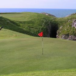 Golf in Donegal on Cruit Island