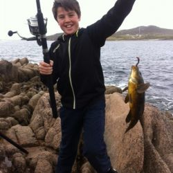 fishing on cruit island